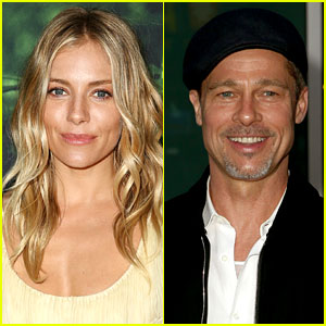 Sienna Miller Comments on Brad Pitt Dating Rumors