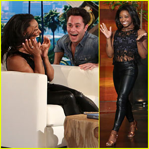 Simone Biles Scared By 'DWTS' Partner Sasha Farber - Watch Now!