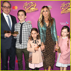 Sarah Jessica Parker & Matthew Broderick Bring Their Kids to Opening Night of 'Charlie & The Chocolate Factory The Musical'!