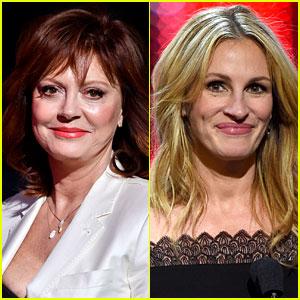Susan Sarandon Speaks to Rumors She Feuded with Julia Roberts on 'Stepmom' Set