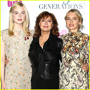 Susan Sarandon Is Surrounded By Co-Stars at '3 Generations' Screening