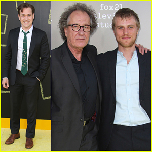 T.R. Knight & Geoffrey Rush Reunite Ahead Of 'Genius' Premiere - Watch Extended Trailer!