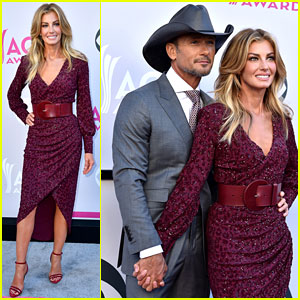 Tim McGraw & Faith Hill Are One Hot Couple at ACM Awards 2017