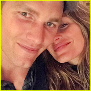 Gisele Bundchen & Tom Brady Share Selfie From Their Date Night!