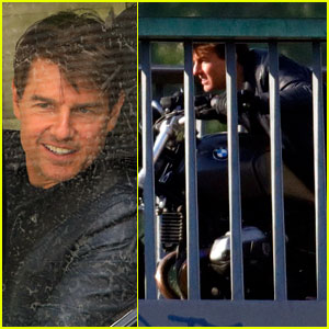 Tom Cruise & Henry Cavill Are on the Move on 'Mission: Impossible 6' Set