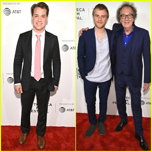 T.R. Knight & Geoffrey Rush Premiere Their New Show 'Genius' at Tribeca Film Festival 2017