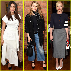 Priyanka Chopra, Dianna Agron, & Christina Ricci Join the Jurors at Tribeca Welcome Lunch!