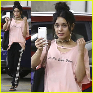 Vanessa Hudgens Sometimes Does Soul Cycle Twice a Day