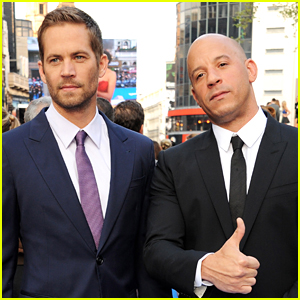 Vin Diesel Pays Tribute to Paul Walker at 'Fate of the Furious' Premiere (VIDEO)