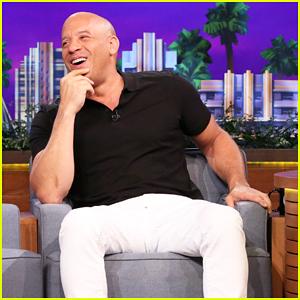 Vin Diesel Performs Chipmunk Karaoke Version Of 'Lean on Me' On 'The Tonight Show'!