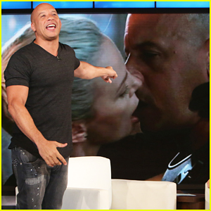 Vin Diesel Responds To Charlize Theron's Bashing Comments On Their 'Fate of the Furious' Kiss!
