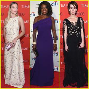 Viola Davis, Margot Robbie, & More Attend the Time 100 Gala in NYC