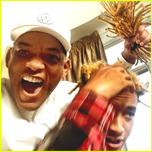 Will Smith Chops Off All of Son Jaden's Hair - See the Pics!