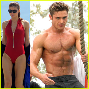 Zac Efron's Abs Are 'Incredible,' Says 'Baywatch' Co-Star Alexandra Daddario