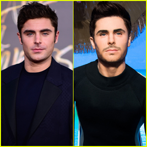 Zac Efron Gets a New Wax Figure at Madame Tussauds