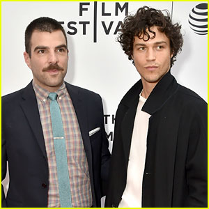 Zachary Quinto's Boyfriend Miles McMillan Supports Him at 'Aardvark' Tribeca Premiere!