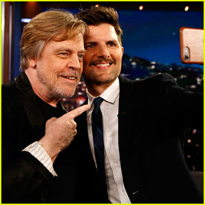 Adam Scott Gets Epic Surprise from Mark Hamill on Star Wars Day!