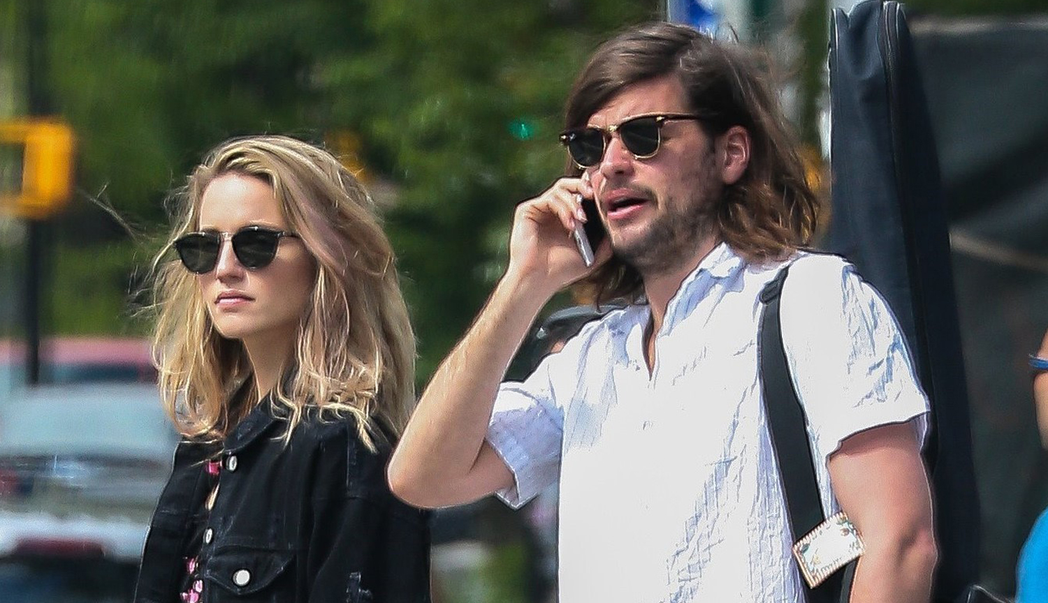 Dianna Agron Amp Hubby Winston Marshall Hang Out In Nyc