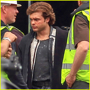 Alden Ehrenreich Spotted on Young Han Solo Movie Set!