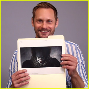 Alexander Skarsgard Sees Brother Bill as Pennywise for First Time - Watch Now!