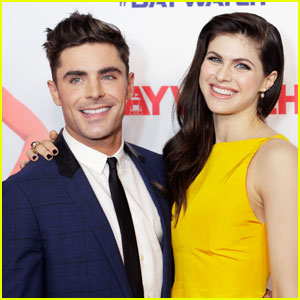 Alexandra Daddario Comments on Zac Efron Romance Rumors