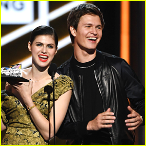 Alexandra Daddario & Ansel Elgort Present Together at Billboard Music Awards 2017