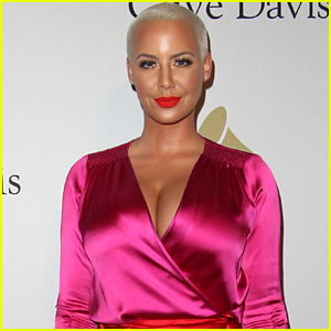 Amber Rose's House Robbed, Burglar Hid in Her House for Four Hours While She Slept