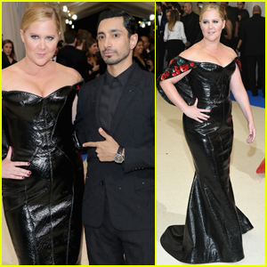 Amy Schumer & Riz Ahmed Strike a Pose at Met Gala 2017