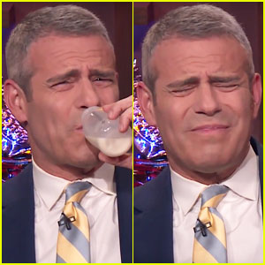 Andy Cohen Drinks Amber Tamblyn's Breast Milk - Watch Now!