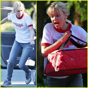 Anna Faris Starts Filming 'Overboard' in Vancouver