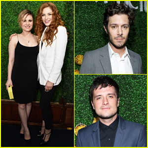 Anna Paquin & 'Show Wife' Rachelle Lefevre Have Date Night At Sony Pictures Television Bash!