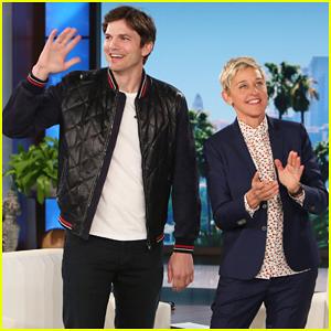 Ashton Kutcher Tells 'Ellen' Why He & Mila Kunis Named Son Dimitri - Watch Here!