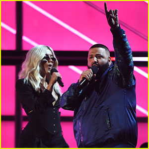 Beba Rexha & DJ Khaled Team Up at Billboard Music Awards 2017