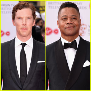 Benedict Cumberbatch & Cuba Gooding Jr. Suit Up for BAFTA Television Awards 2017
