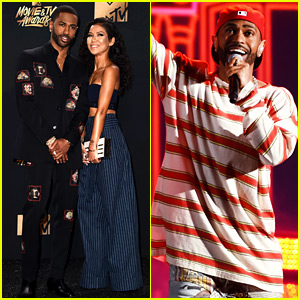 Big Sean & Jhene Aiko Couple Up at MTV Awards - Watch His Performance!