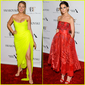 Blake Lively & Katie Holmes Are Beauties at the Ballet!