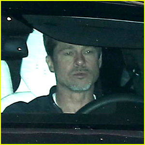 Brad Pitt Shows Slim Figure in New Photos!