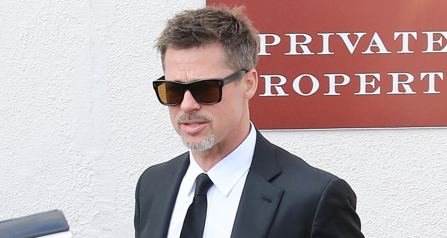 Brad Pitt Steps Out For Lunch After Attending Chris Cornell's Funeral Brad Pitt