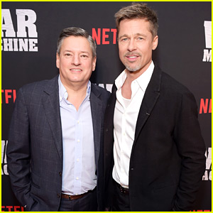 Brad Pitt Suits Up for 'War Machine' NYC Screening