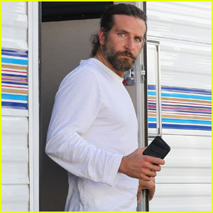 Bradley Cooper Sports Hot Gray Scruff For 'A Star is Born'