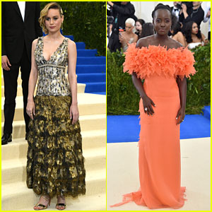 Brie Larson & Lupita Nyong'o Are Oscar Darlings at Met Gala 2017