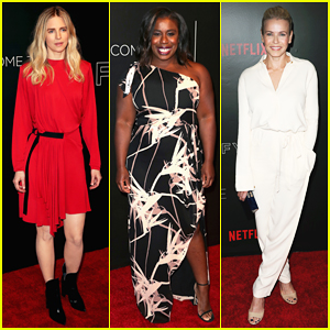 Brit Marling, Uzo Aduba & Chelsea Handler Come Together For Netflix Event!