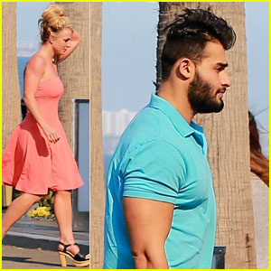 Britney Spears Goes On a Malibu Date with Sam Asghari!
