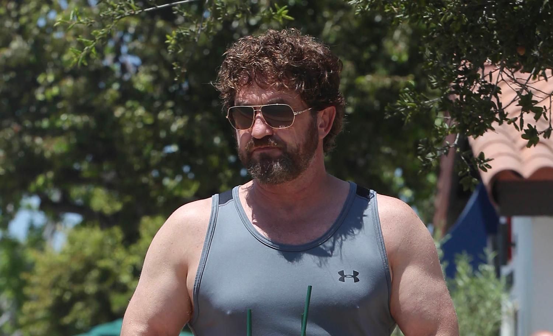 Gerard Butler Shows Off His Buff Biceps in LA! | Gerard ...