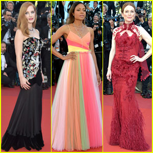 Jessica Chastain, Naomie Harris, & Julianne Moore Stun at Cannes Opening Night 2017
