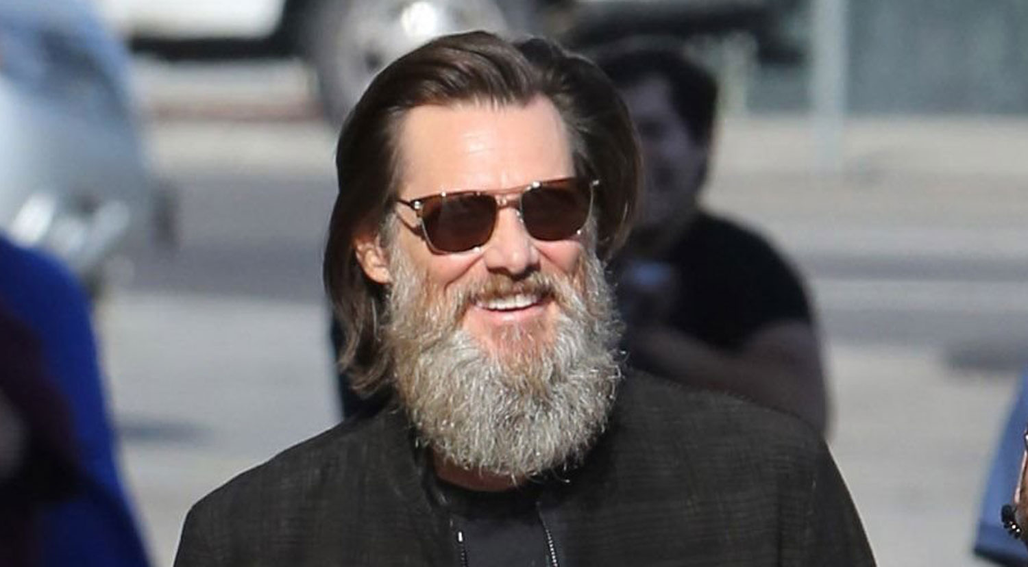 Jim Carrey Flaunts His... Jim Carrey