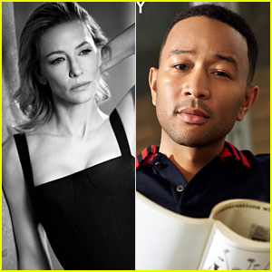John Legend & Cate Blanchett Discuss Speaking Out as a Celebrity