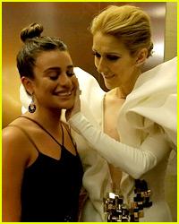 Celine Dion Had So Many Celeb Visitors Backstage at BBMAs
