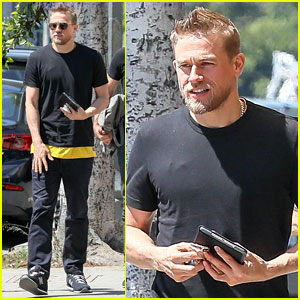 Charlie Hunnam Steps Out in WeHo After Commenting on His Female Audience