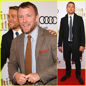 Charlie Hunnam Teams Up With Guy Ritchie To Bring 'King Arthur' To Canada!